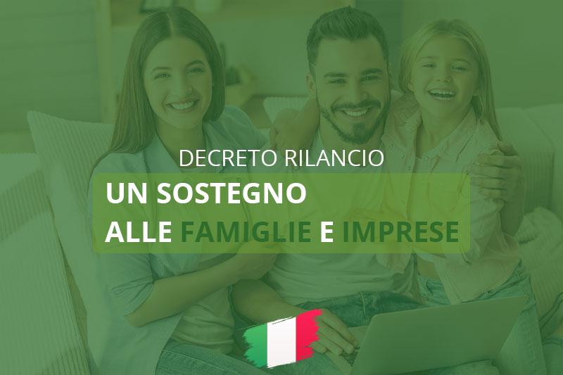 Decreto Rilancio: misure e ammortizzatori sociali per famiglie e imprese